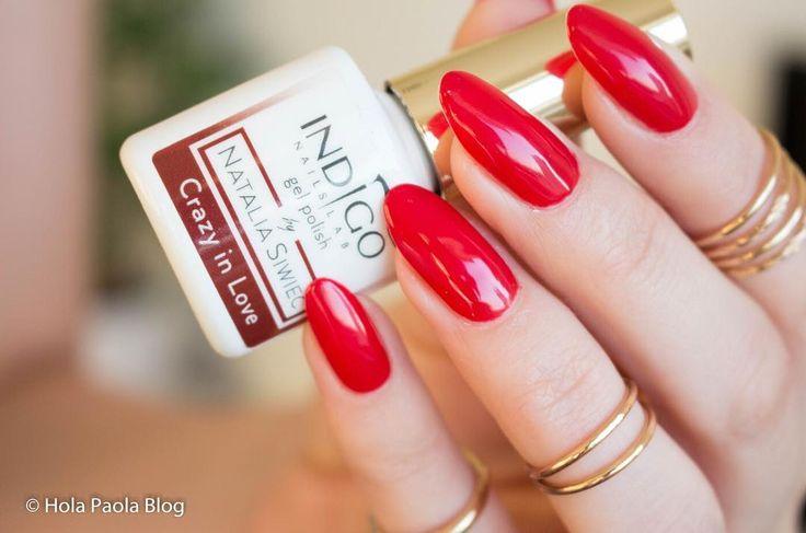 Czy Was też ciągnie do czerwonych paznokci na jesień? Na moich dziś @indigonails Crazy In Love klasyczna hollywoodzka czerwień. #paznokcie #paznokciehybrydowe #indigo #nataliasiwiec #czerwony #red #nails2inspire #lakierhybrydowy #polskadziewczyna #lakier #hybrydy #blogerka #pazurki #zdobienie #naturalnepaznokcie #polecam #blogerkakosmetyczna #blogerkalakierowa #maluje #lakieryhybrydowe #indigonails #styl #serduszko #sliczne #urocze #gliter #nailpolish #sparkles #glow #blysk