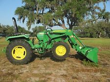 John Deere 5055E 4x4 with JD 553 Loader 1 SCV Remote  Lightly Used REDUCEDfinance tractors www.bncfin.com/apply