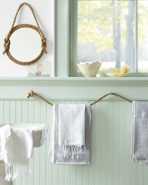 Bar towel holder