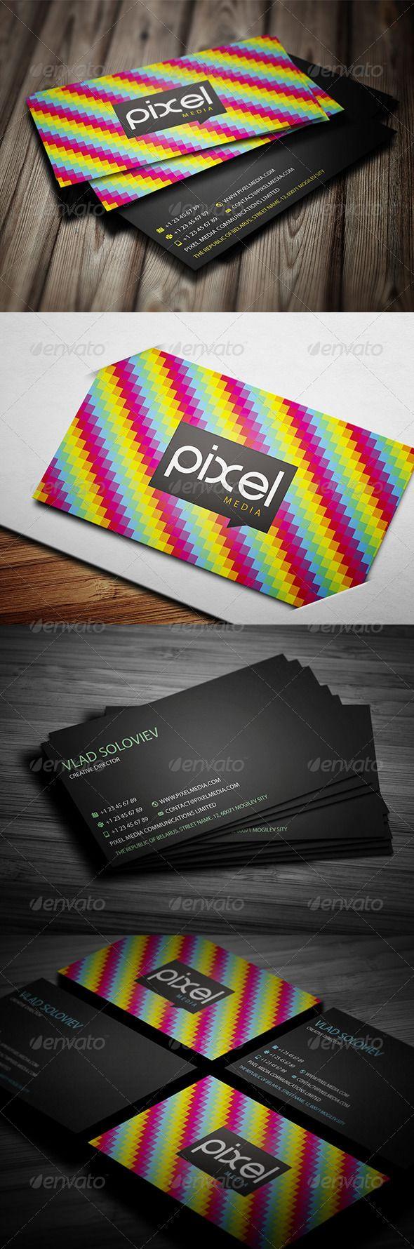 107 best print templates images on pinterest modelos de impresso rainbow business card reheart Choice Image