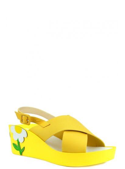 a7cfce8ec Ascalini z8-R6209 | В продаже Жёлтые босоножки | обувь | Sandals ...