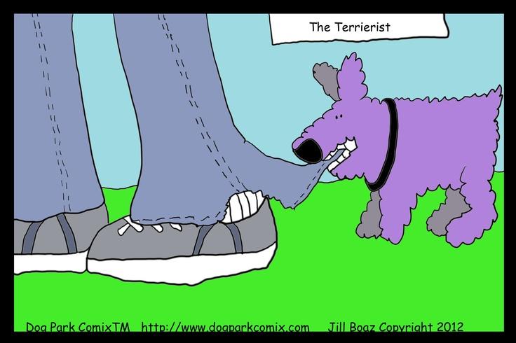 The TerrieristParks Comix, Dogs Parks