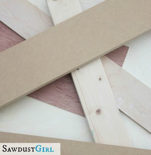 how select materials for different kinds of projects. MDF, plywood, solid wood. What's best for what applications?...
