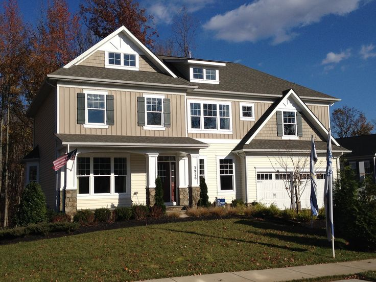 Brookfield Residential at Brookside Subdivision in Warrenton, Virginia