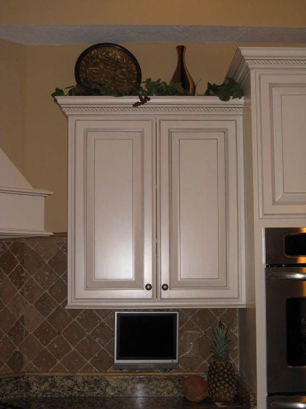 67 best cabinet top decorating images on Pinterest ...