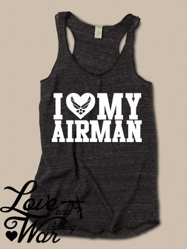 yellow shoes song I love my Airman racer back tank top