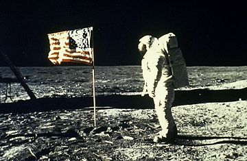 """It's now been nearly four decades since Neil Armstrong took his """"giant leap for mankind"""" — if, that is, he ever set foot off this planet. Doubters say the U.S. government, desperate to beat the Russians in the space race, faked the lunar landings, with Armstrong and Buzz Aldrin acting out their mission on a secret film set, located (depending on the theory) either high in the Hollywood Hills or deep within Area 51"""