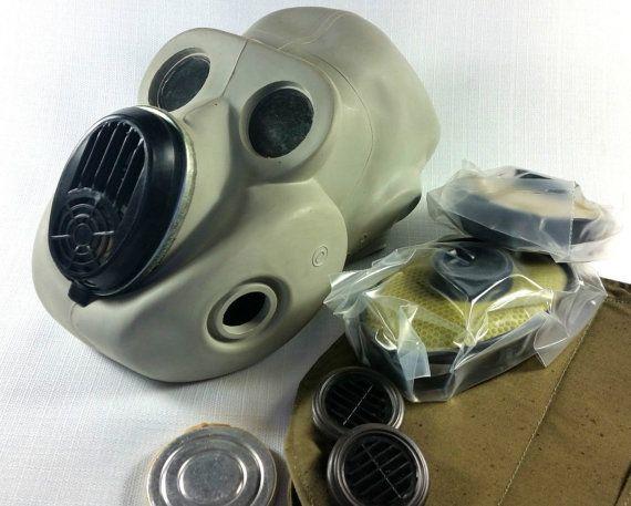 Soviet russian gas mask... PBF. New full set... EO 19 ...