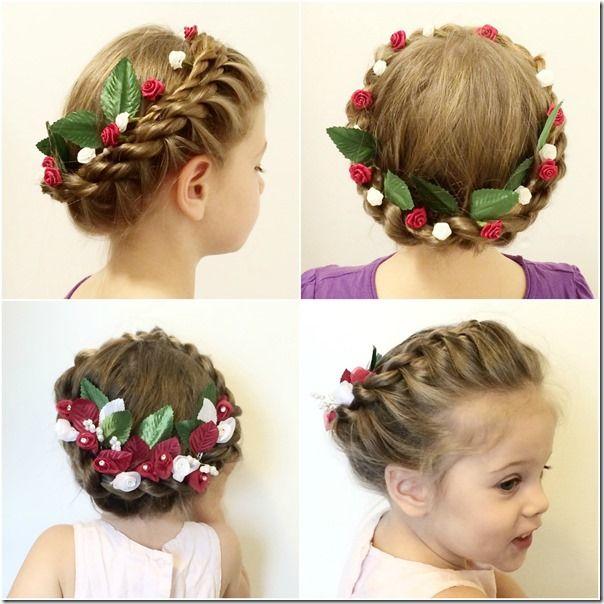 Rope Twist Crown Braid - Christmas Wreath