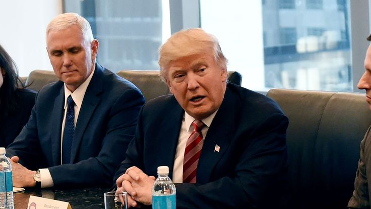 NEW YORK—Sitting down with top officials from the CIA, FBI, and Defense Intelligence Agency in a Trump Tower conference room, President-elect Donald Trump reportedly gave U.S. intelligence agencies their daily briefing Tuesday morning.