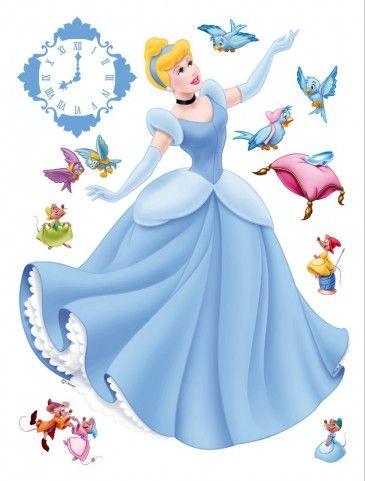 Disney Prinzessin - Cinderella, Mäuschen Und Vögel