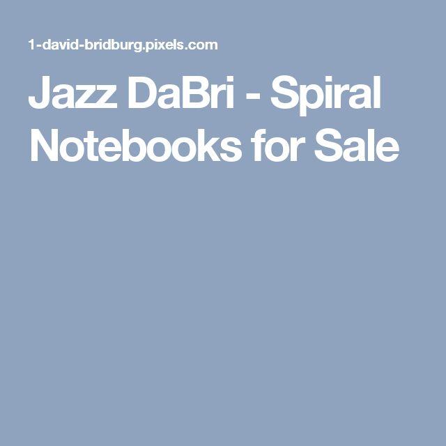 Jazz DaBri - Spiral Notebooks for Sale