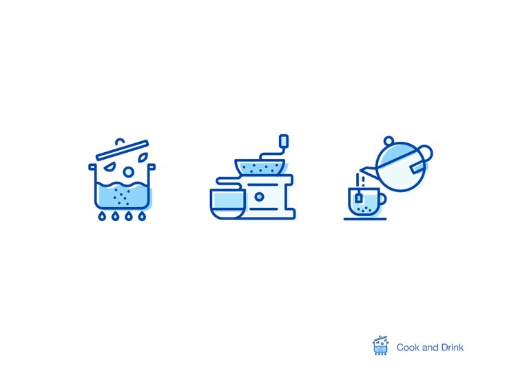 "Hi,I'm Cook And Drink. I name them ""Life-style-icons"". This life-style icons are the concept for the latest project, take a try to use some lines and dots to rich the details~ And you can check the..."