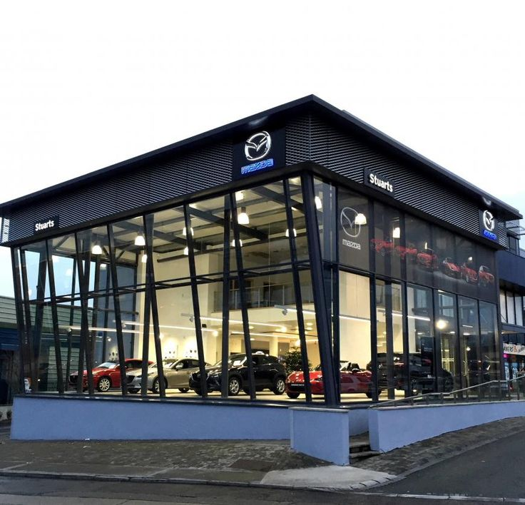Mazda Dealership San Diego >> New Mazda Showroom Launch | Retail architecture, Showroom design, Warehouse design
