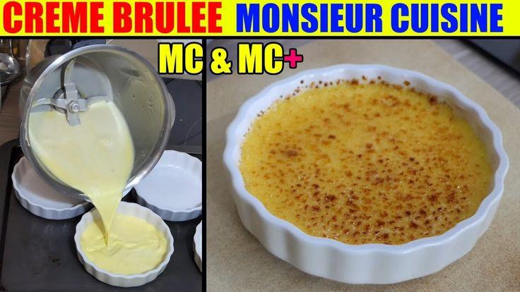 creme brulee recette monsieur cuisine plus lidl silvercrest test recipe ...