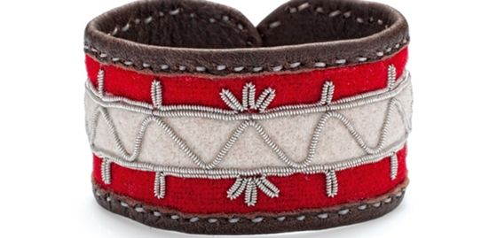 Sámi handicraft by Hanna Wallmark from northern Sweden, from the island of Seskarö outside Luleå.