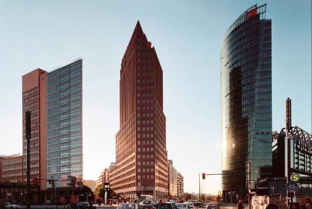 PANORAMAPUNKT Berlin Potsdamer Platz - 360° Aussicht, Ausstellung, Café