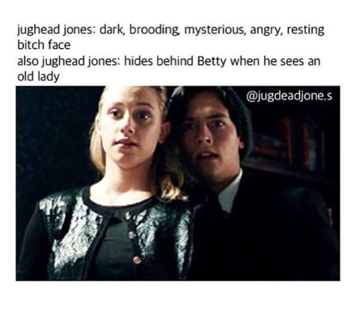 Read 3.2 from the story Riverdale Memes (Book 2) by bugheadthefirst with 191 reads. jarchie, varchie, lilicole.