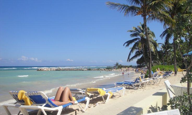 Private beach facilities at the Hilton Key Largo Resort