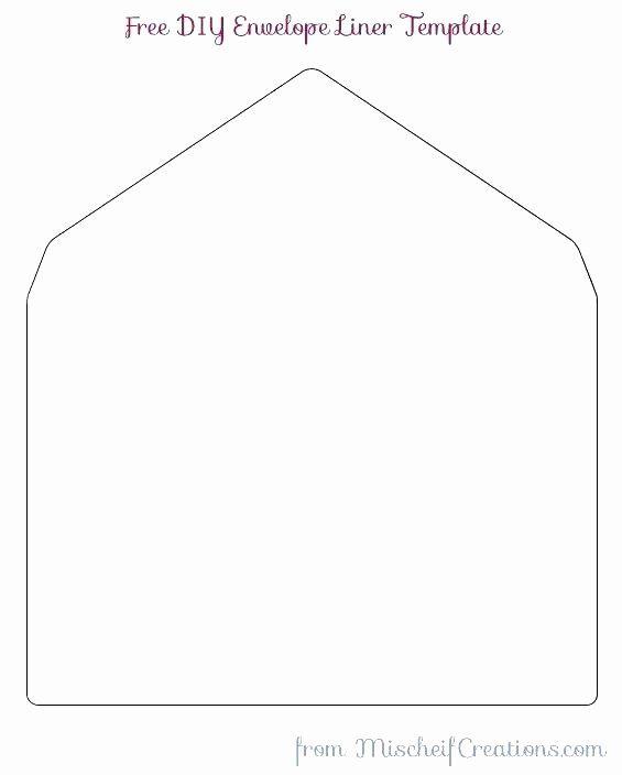 A7 Envelope Liner Template In 2020 A7 Envelope Liner Template