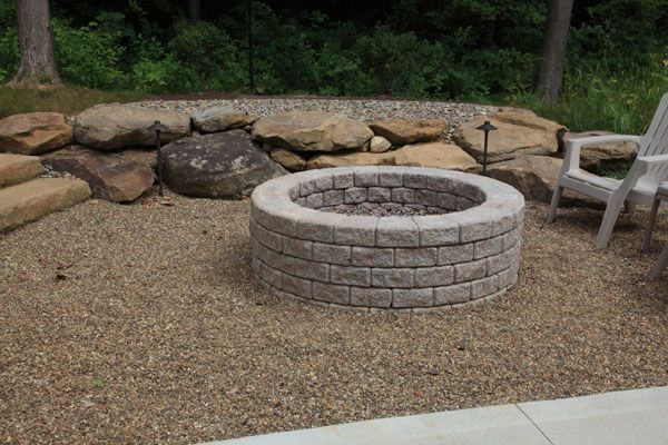 Image result for fire pits with gravel