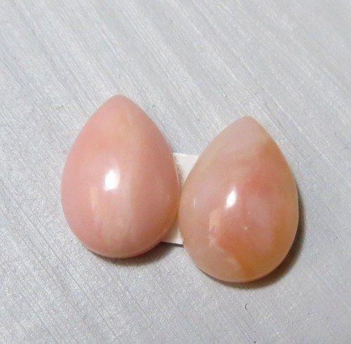 Růžový opál - Peru , pár č.F5 / Prodané zboží prodejce Saffron | Fler.cz