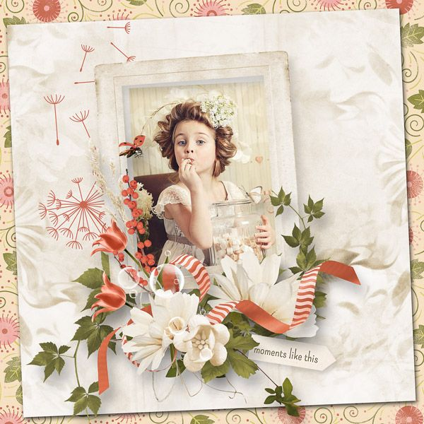 """Poetic spring"" by MoosScraps   http://digital-crea.fr/shop/index.php?main_page=product_info&cPath=155_333&products_id=23524 http://www.oscraps.com/shop/Poetic-spring-full-kit.html"