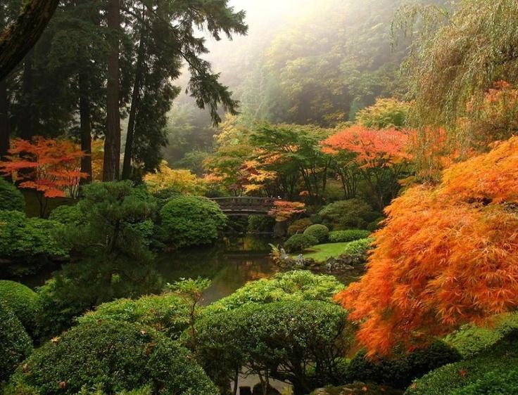 The Japanese Gardens in Portland, Oregon Favourite Pics