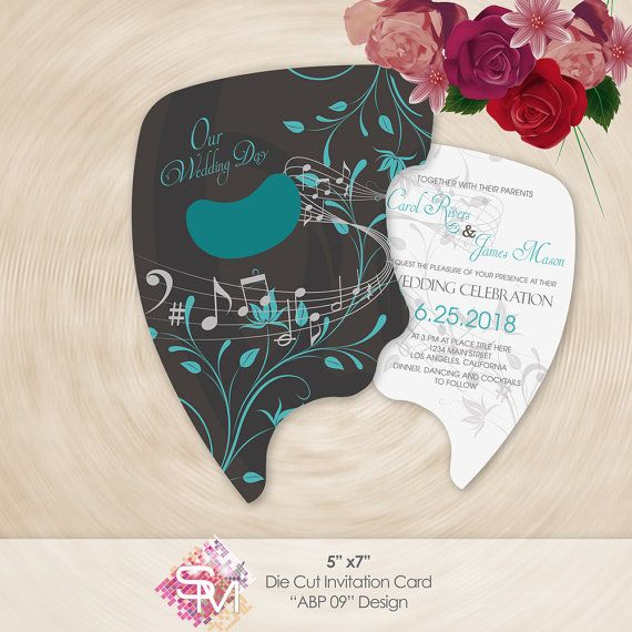 Masquerade Wedding Invitation Sweet 15 Invitation by SMDesigns4You