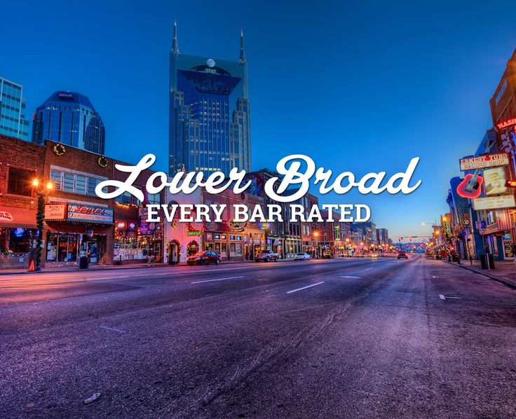 We Rated Every Bar on Lower Broad