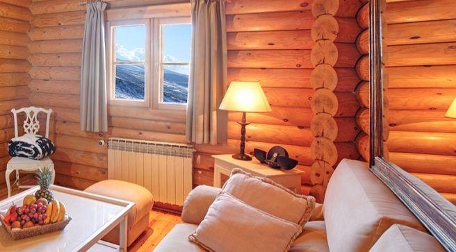 Lodge-Ski-Spa-Resort de lujo en Finlandia