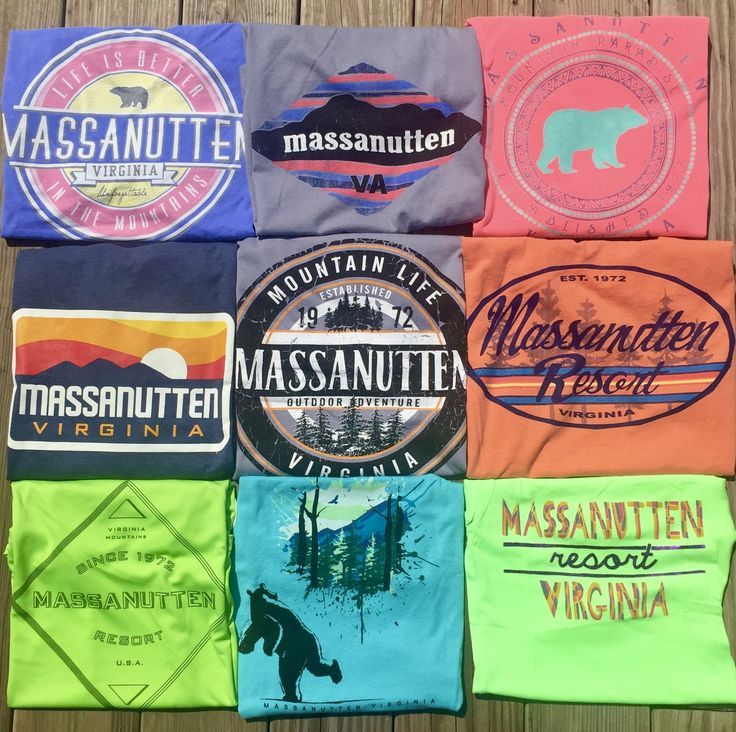 After you've experienced the greatest vacation on Earth, take home the greatest shirt on Earth! Find the newest Massanutten apparel at The General Store and The Market, located on-mountain at Massanutten Resort in McGaheysville, VA!