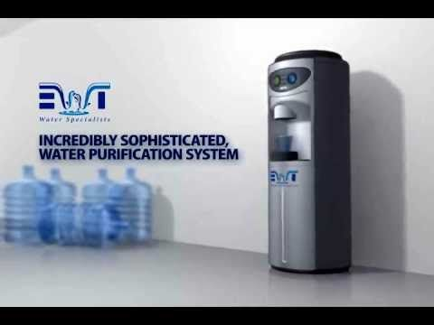 Exclusive video from #EWT :  Office water cooler - No more bottles with the EWT plumbed in water cooler