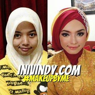 Rias Makeup Natural dan Hijab Wisuda di Kota Malang