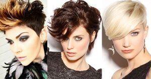 Ga voor een mooie paarse kleur in jouw korte haar! Paars is ook geweldig te combineren in zwart of donker bruin haar. Welke is jouw favoriet? Laat het ons weten in een reactie.