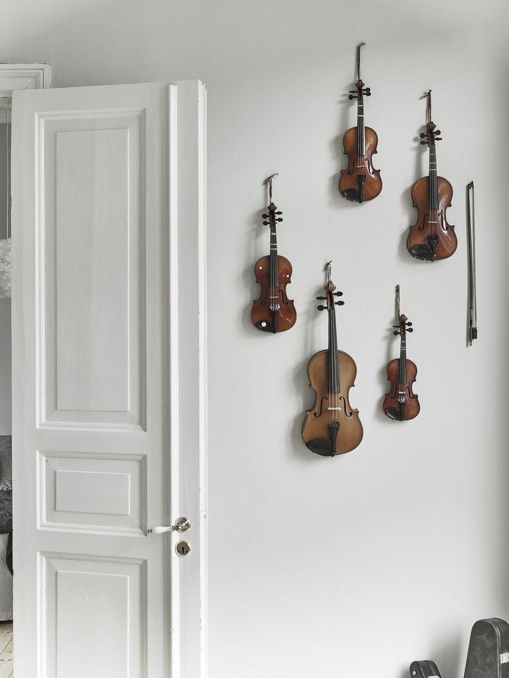 Home of a musician - via cocolapinedesign.com