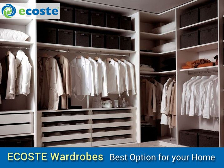 Transform your ‪#‎Wardrobes‬ & Give your ‪#‎Home‬ Best Look - http://www.ecoste.in/
