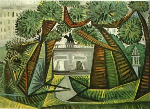 Le Square du Vert-Galant. Pablo Picasso. {...}