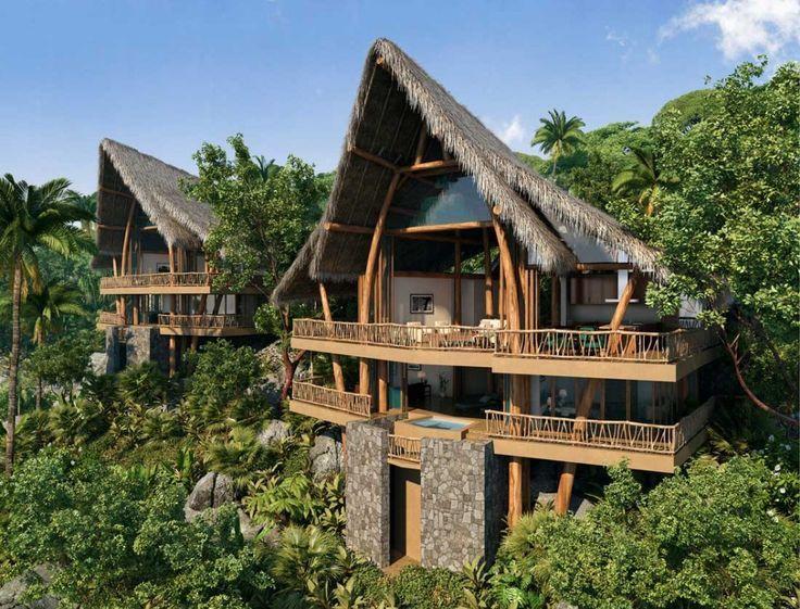 Una gran variedad de hoteles en Nayarit se encuentran ubicados en la montaña con acceso a las cristalinas playas de México.