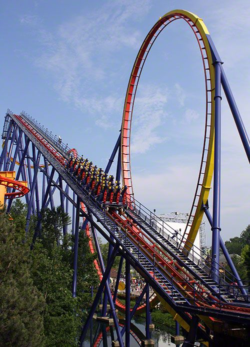 Mantis, cedar point Best place to ride this one is from Millennium Force's queue :)