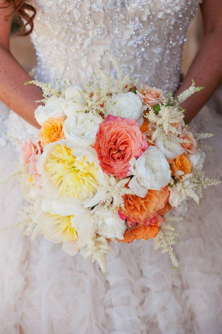Vintage Brautstrauß Ideen für zarten, romantischen und verspielten Touch