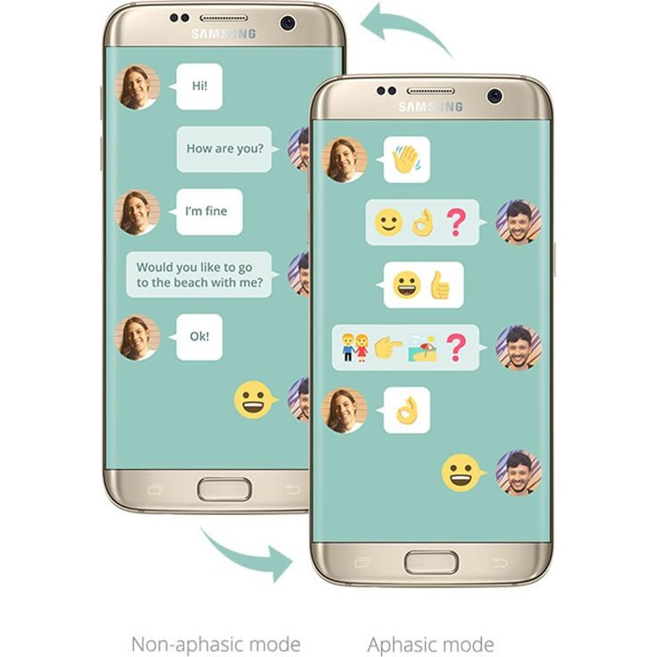 Elise and Gemma used to talk all the time, but aphasia took that from them. Their story is at the heart of a new idea by Samsung.