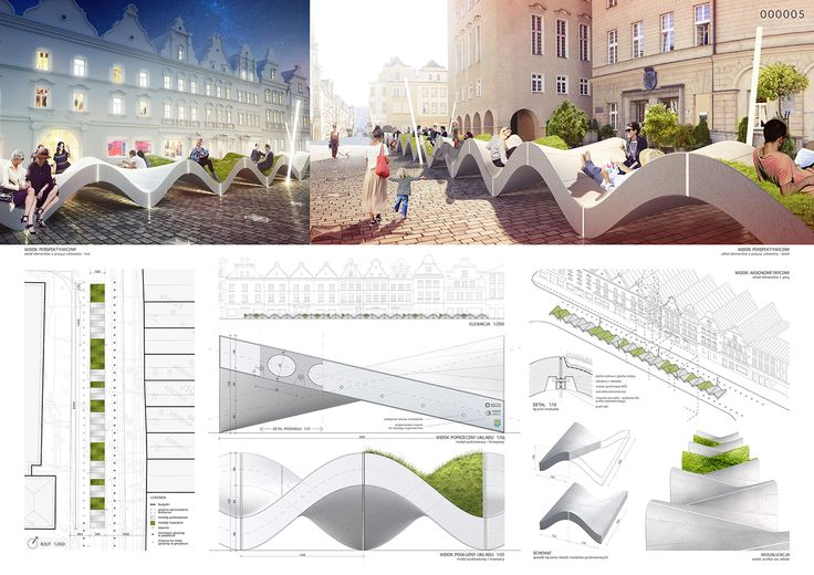 Opole concrete furniture competition on Behance