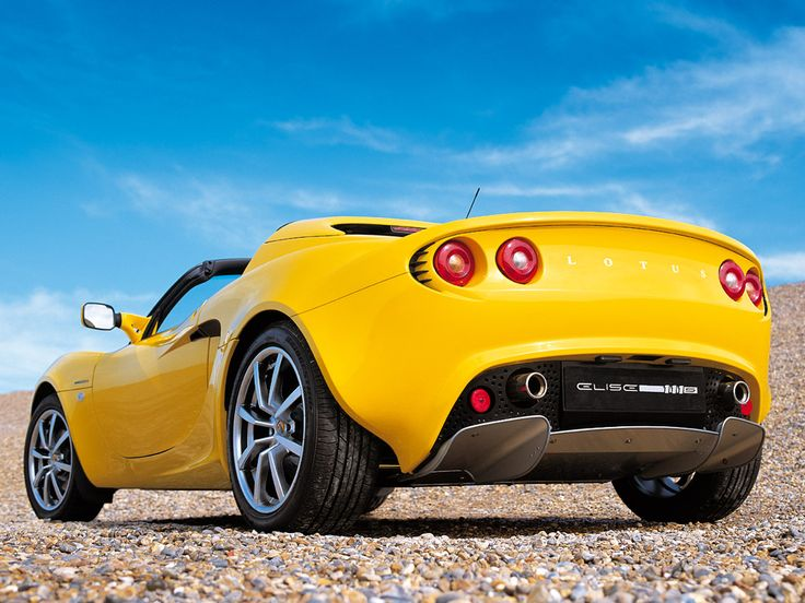 lotus elise - so pretty