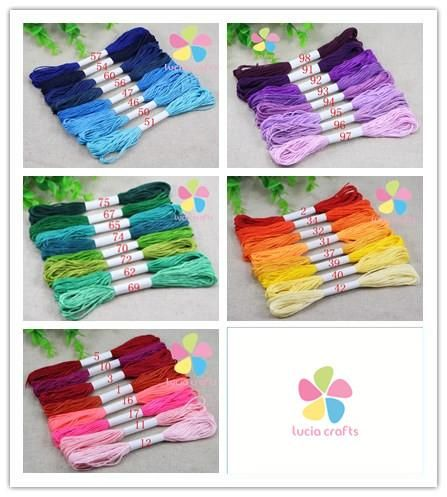 [Visit to Buy] Multi colors option 6 shares length 7m anchor cross stitch cotton embroidery thread 8pcs/lot,7m/pc  033005029 #Advertisement