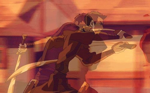 Loved that Zuko not only was an outstanding firebender, but that he was nearly unrivaled in his dual dao sword fighting skills.