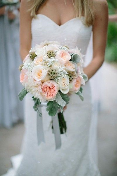 Scabiosa Pod Arrangements, Wedding Flowers Photos by The Grovers - Image 16 of 19 - WeddingWire