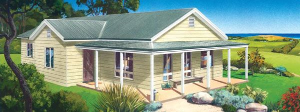 Paal home designs the kiama visit for Paal kit home designs