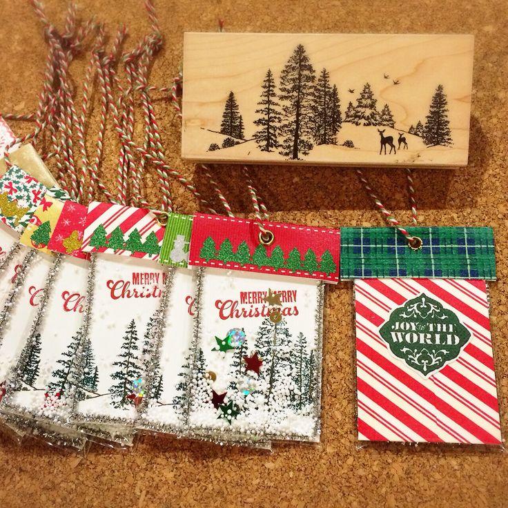 Handmade Shaker gift tags