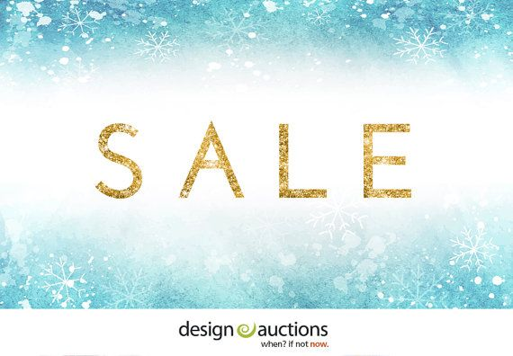 Winter SALE All Instant Download Logo by DesignAuctionsNow on Etsy